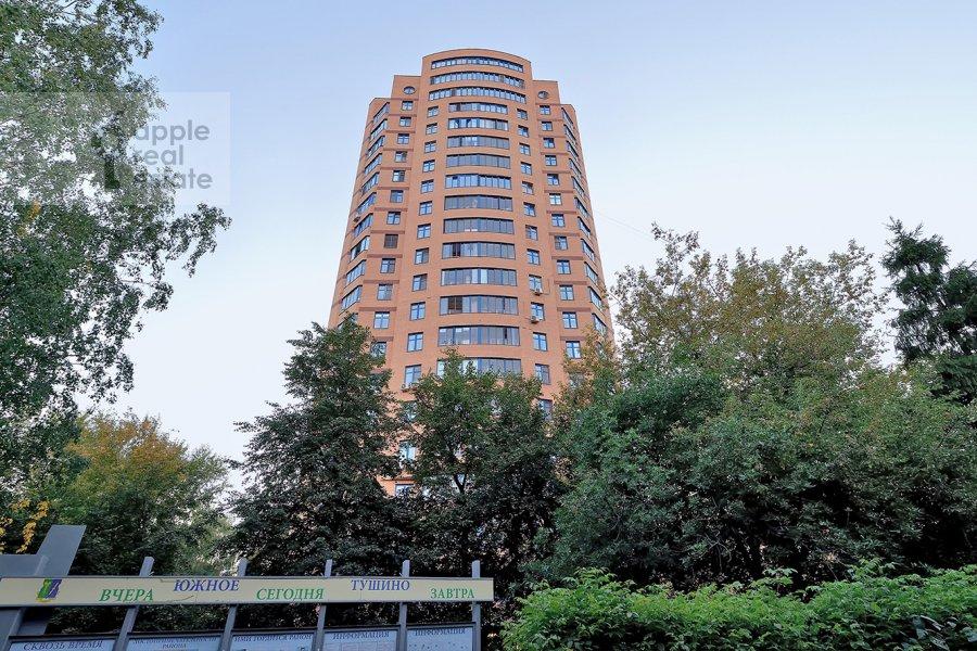Photo of the house of the 3-room apartment at Skhodnenskaya ulitsa 35S1