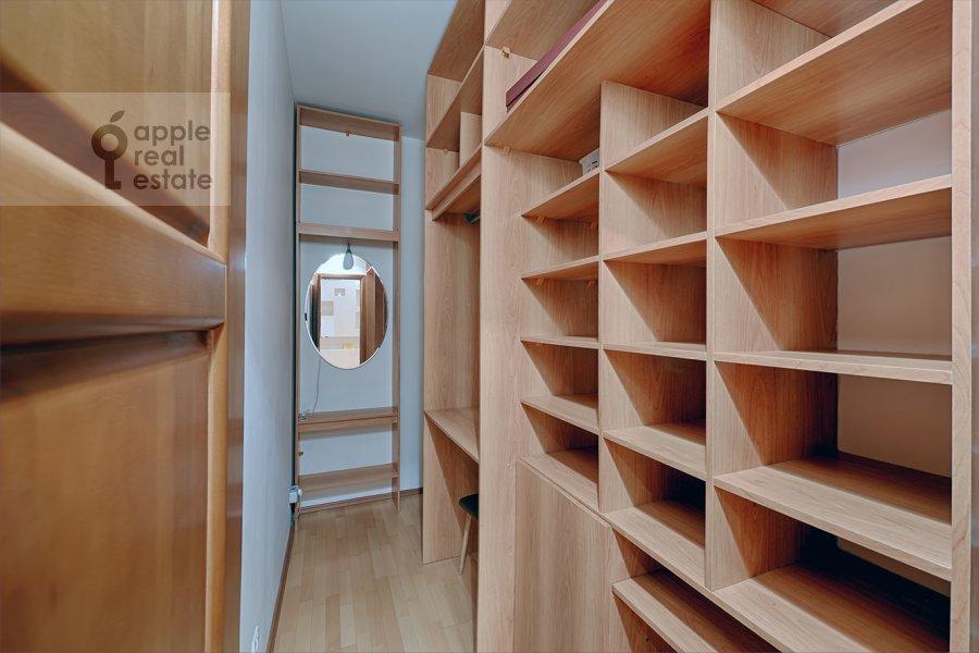 Walk-in closet / Laundry room / Storage room of the 3-room apartment at Skhodnenskaya ulitsa 35S1