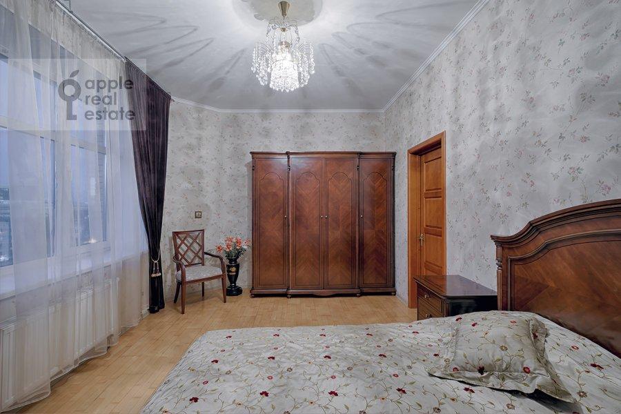 Bedroom of the 3-room apartment at Skhodnenskaya ulitsa 35S1
