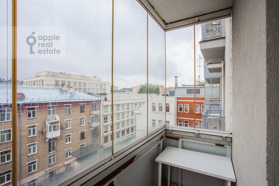 Balcony / Terrace / Loggia of the 4-room apartment at Mashkova ulitsa 1