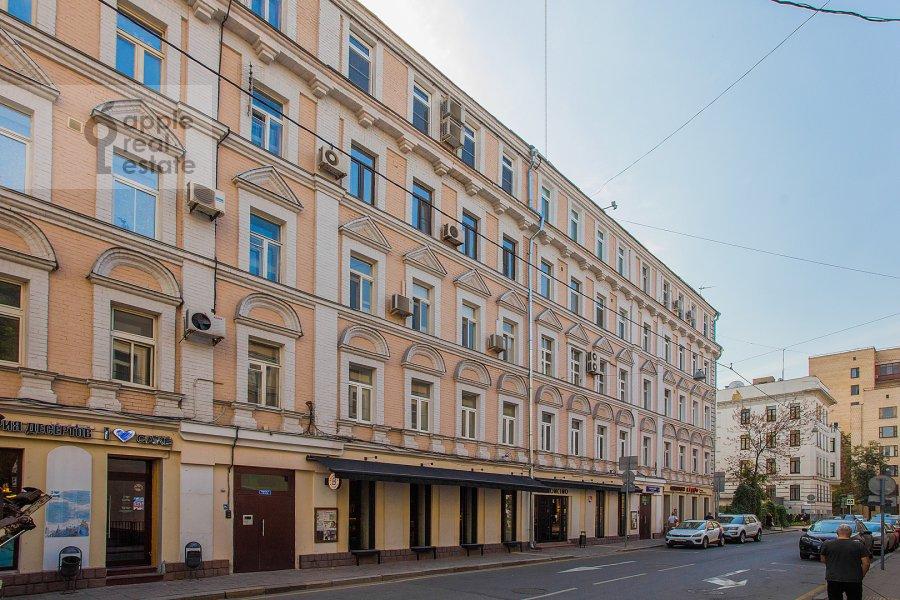 Photo of the house of the 4-room apartment at Bol'shoy Patriarshiy pereulok 4