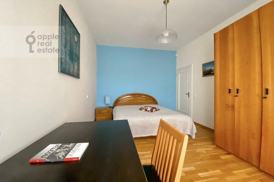 Спальня в 3-комнатной квартире по адресу Тверская улица 6с3