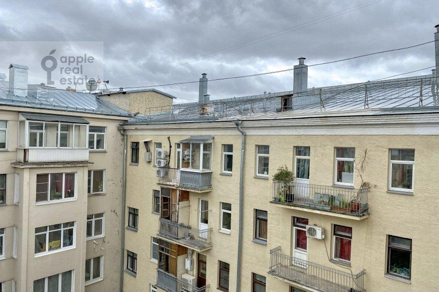 Вид из окна в 3-комнатной квартире по адресу Тверская улица 6с3