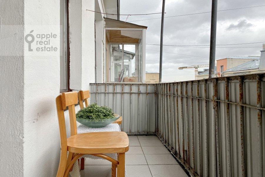 Балкон / Терраса / Лоджия в 3-комнатной квартире по адресу Тверская улица 6с3