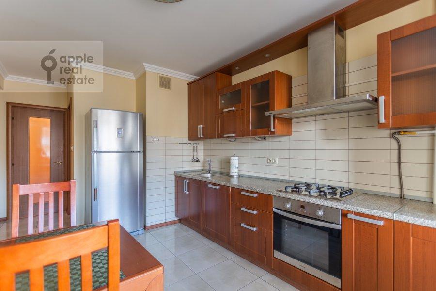 Kitchen of the 4-room apartment at Protopopovskiy per. 6