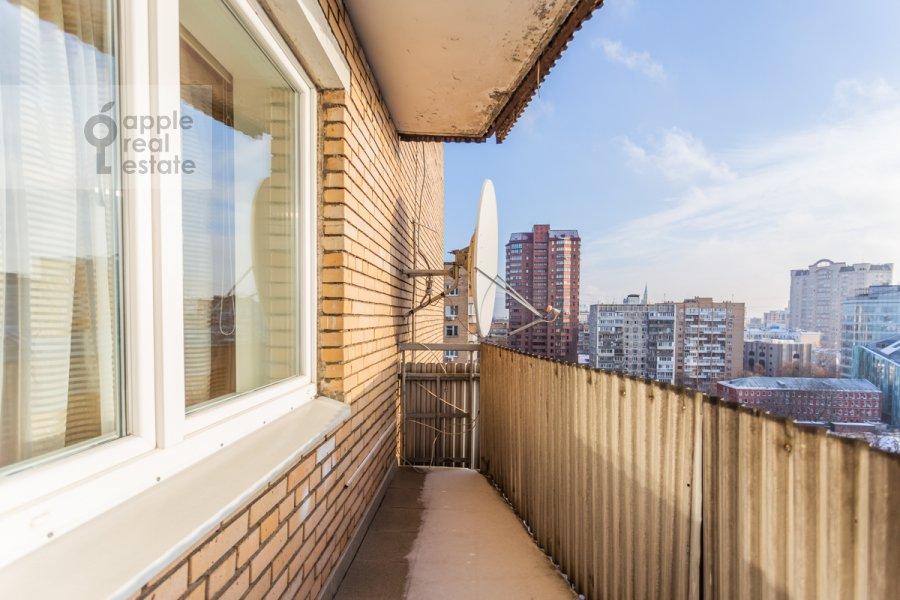 Balcony / Terrace / Loggia of the 4-room apartment at Protopopovskiy per. 6