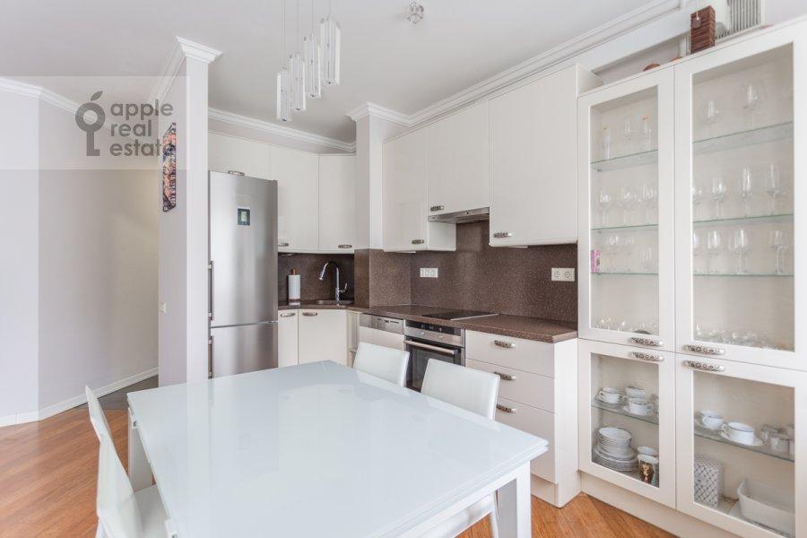 Kitchen of the 3-room apartment at Nikitskiy bul. 17