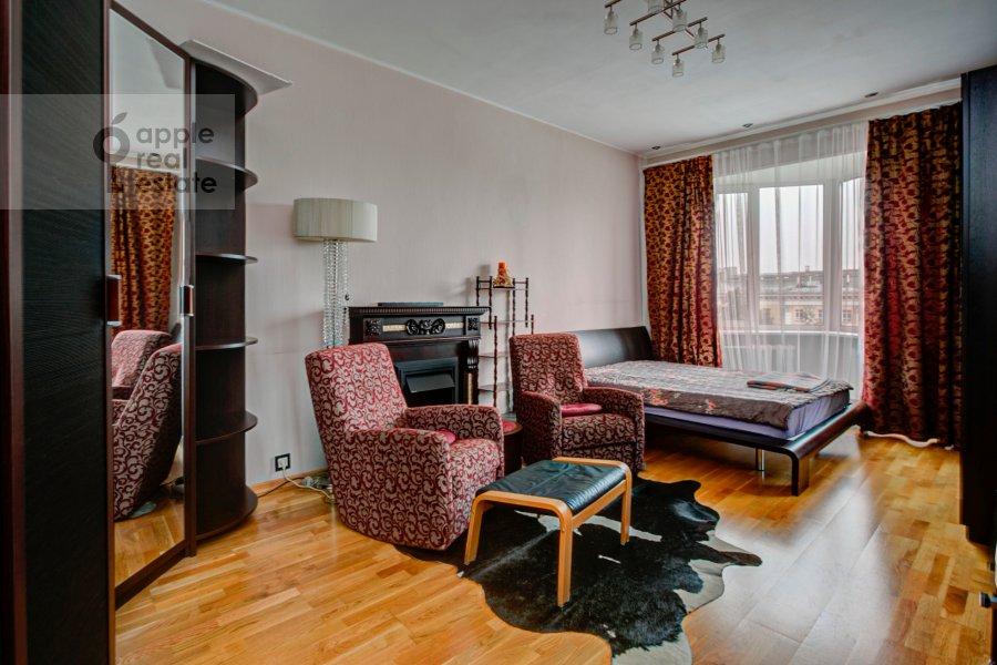 Спальня в 3-комнатной квартире по адресу Ленинский проспект 40
