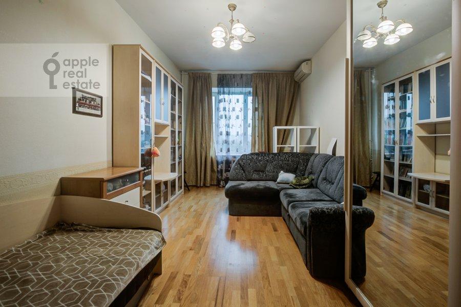 Детская комната / Кабинет в 3-комнатной квартире по адресу Ленинский проспект 40