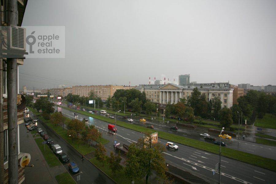 Вид из окна в 3-комнатной квартире по адресу Ленинский проспект 40