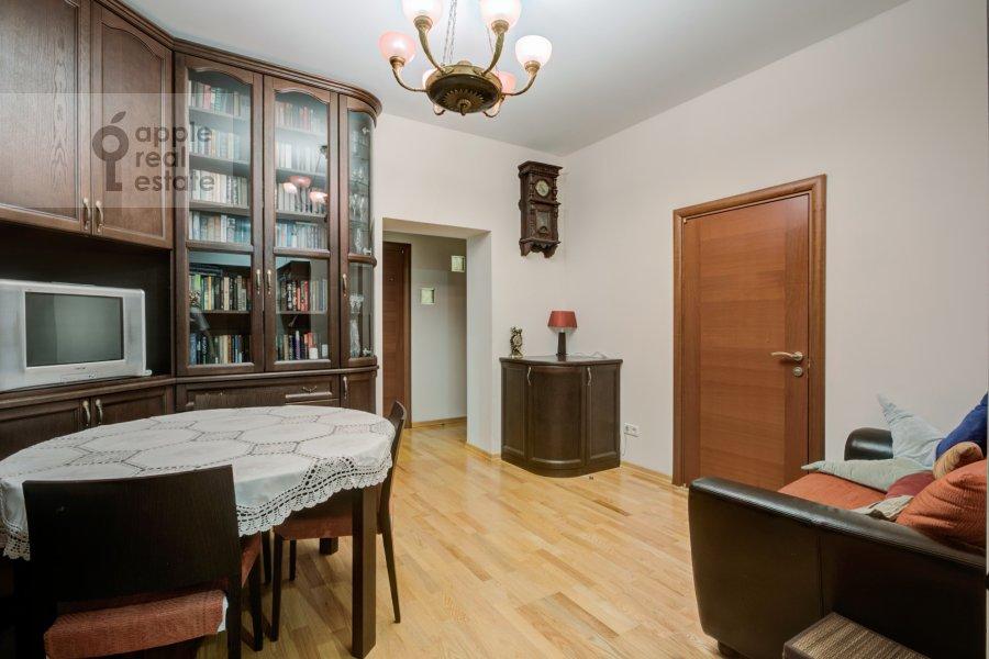 Гостиная в 3-комнатной квартире по адресу Ленинский проспект 40