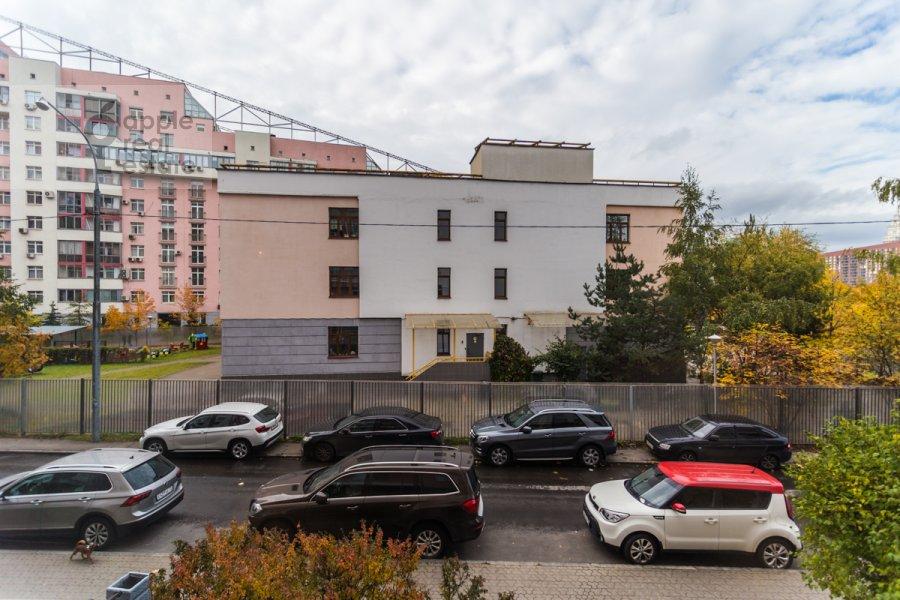 Вид из окна в 4-комнатной квартире по адресу Ходынский бул. 9