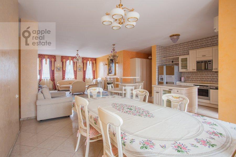 Kitchen of the 3-room apartment at Bol'shoy Tolmachevskiy pereulok 4s1