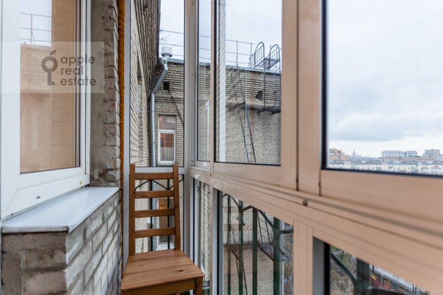Balcony / Terrace / Loggia of the 3-room apartment at Kutuzovskiy pr-kt 4/2