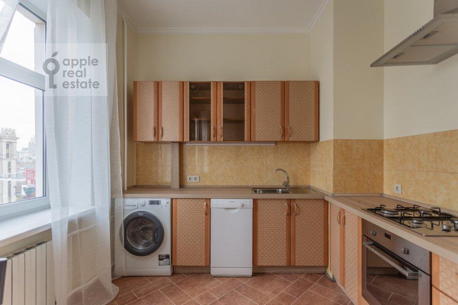 Kitchen of the 3-room apartment at Kutuzovskiy pr-kt 4/2