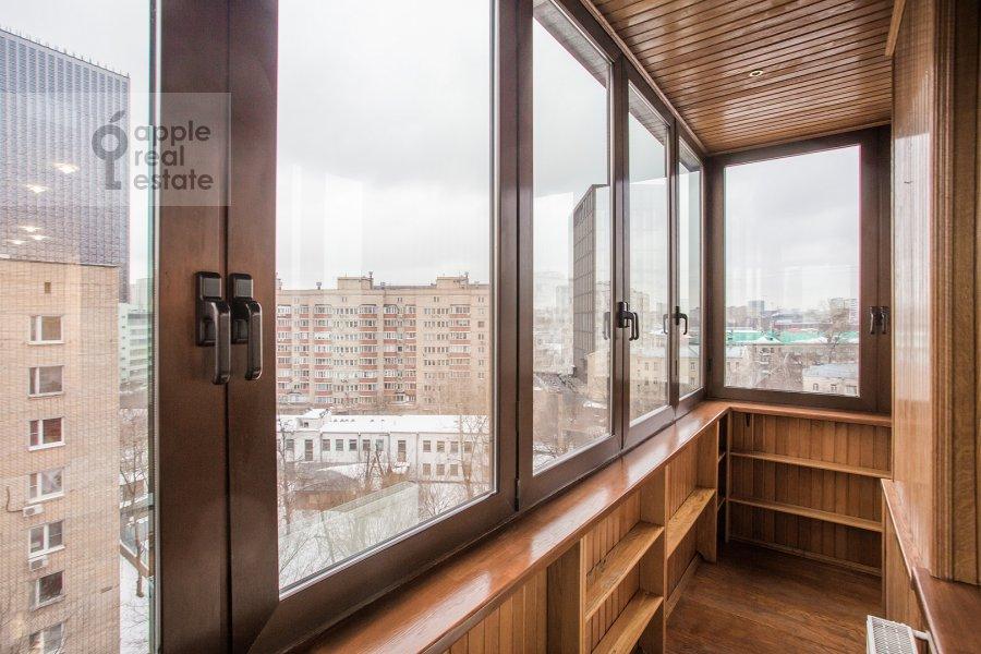 Balcony / Terrace / Loggia of the 5-room apartment at Tishinskiy Bol'shoy per. 38s1