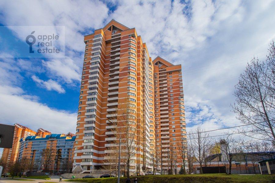 Фото дома 2-комнатной квартиры по адресу Удальцова ул. 17к1