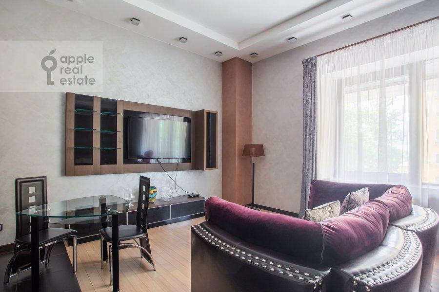 Гостиная в 1-комнатной квартире по адресу Новый Арбат ул. 32