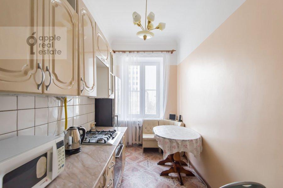 Кухня в 4-комнатной квартире по адресу Гончарная ул. 26к1