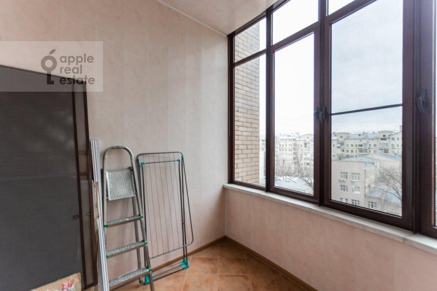 Balcony / Terrace / Loggia of the 3-room apartment at Protopopovskiy per. 17k3