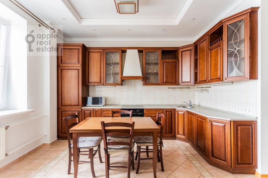 Kitchen of the 3-room apartment at Protopopovskiy per. 17k3