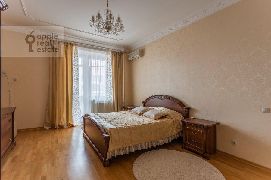 Bedroom of the 3-room apartment at Protopopovskiy per. 17k3
