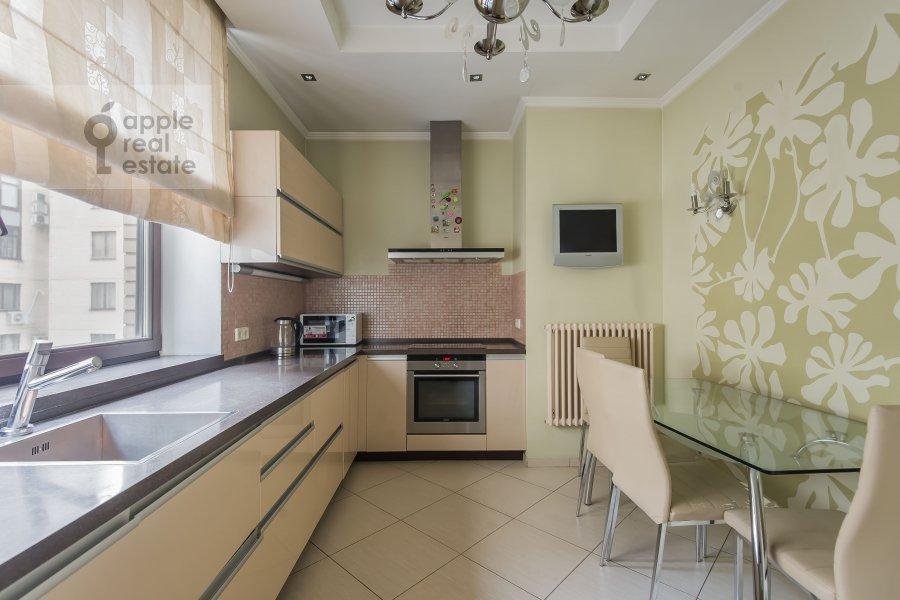Kitchen of the 4-room apartment at 3-ya Krasnogvardeyskaya ulitsa 3