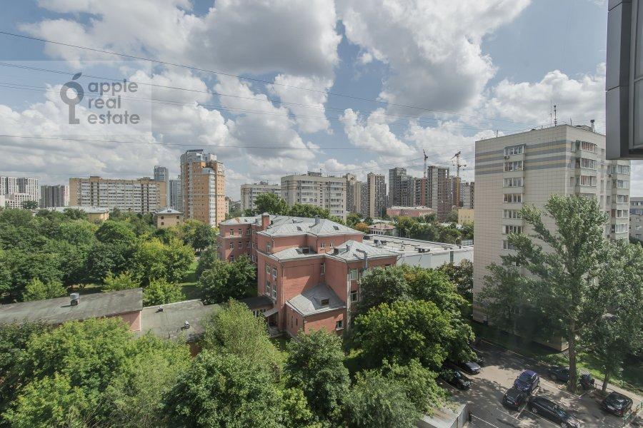 View from the window of the 4-room apartment at 3-ya Krasnogvardeyskaya ulitsa 3
