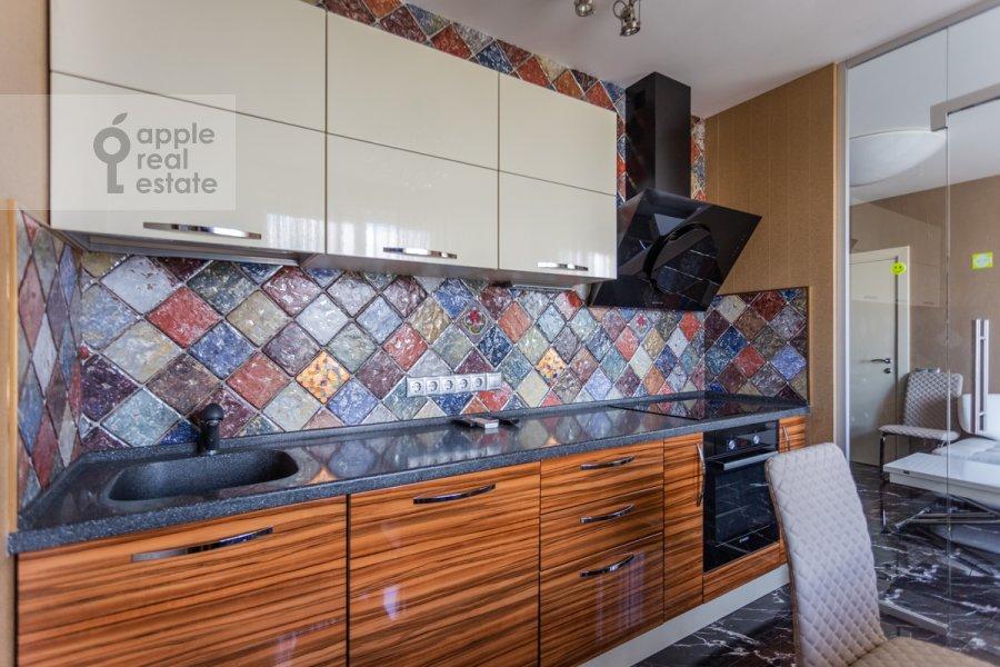 Кухня в 3-комнатной квартире по адресу Хорошевское ш. 12к1