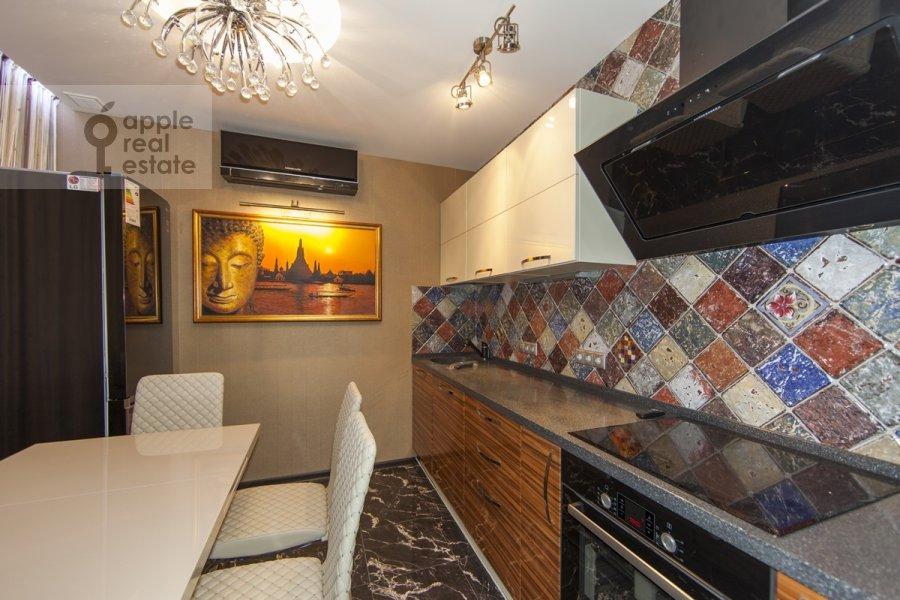 Kitchen of the 3-room apartment at Khoroshevskoe sh. 12k1
