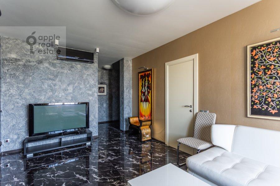 Гостиная в 3-комнатной квартире по адресу Хорошевское ш. 12к1