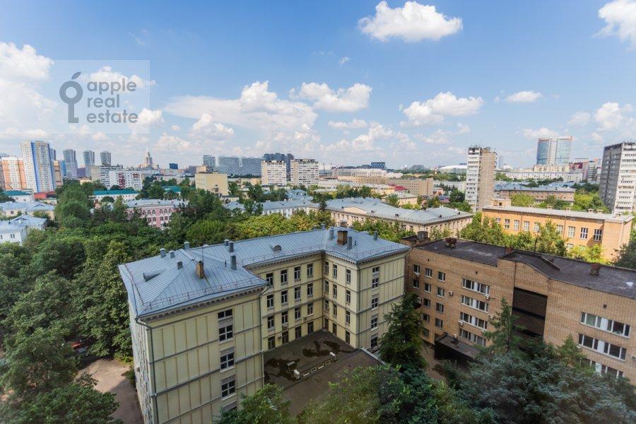 Вид из окна в 3-комнатной квартире по адресу Хорошевское ш. 12к1