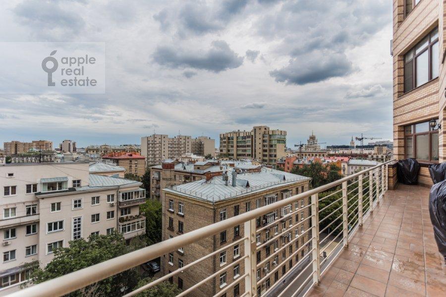 Балкон / Терраса / Лоджия в 4-комнатной квартире по адресу 1-ый Тверской-Ямской пер. 11