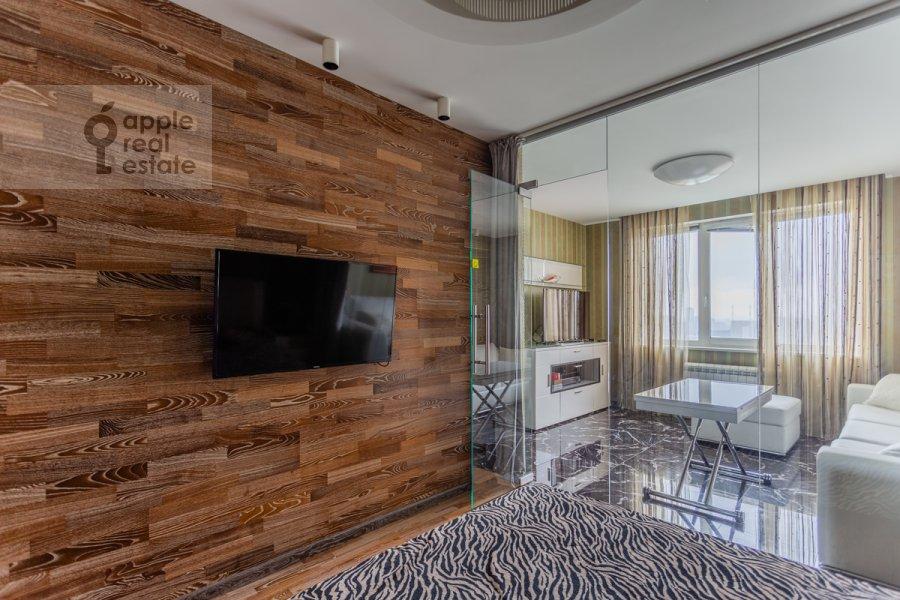 Спальня в 2-комнатной квартире по адресу Хорошевское шоссе 16к2