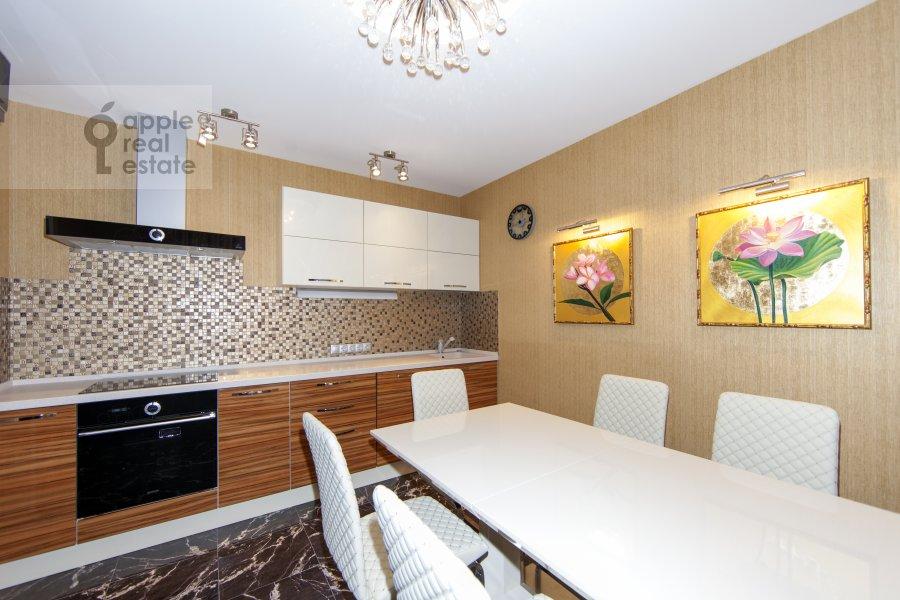 Kitchen of the 2-room apartment at Khoroshevskoe shosse 16