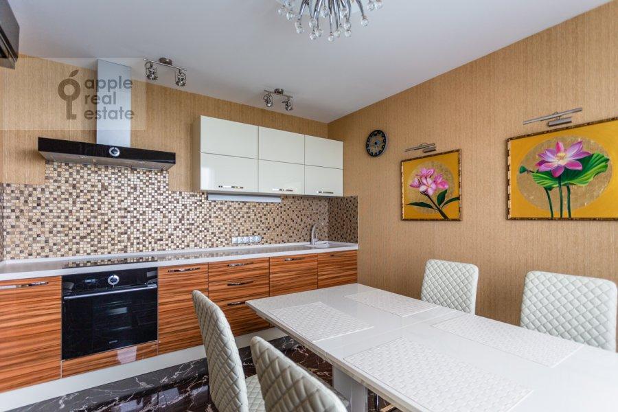 Кухня в 2-комнатной квартире по адресу Хорошевское шоссе 16к2