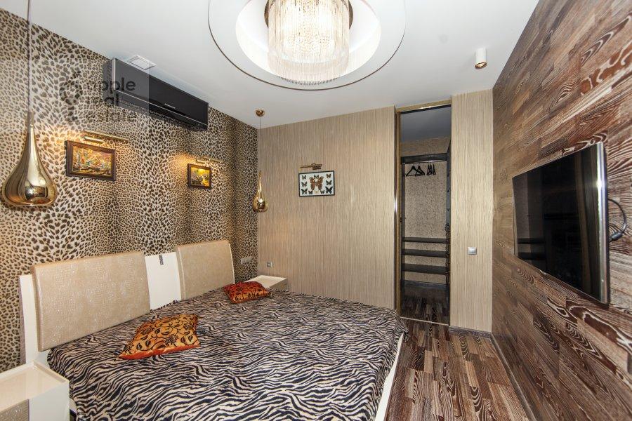Bedroom of the 2-room apartment at Khoroshevskoe shosse 16
