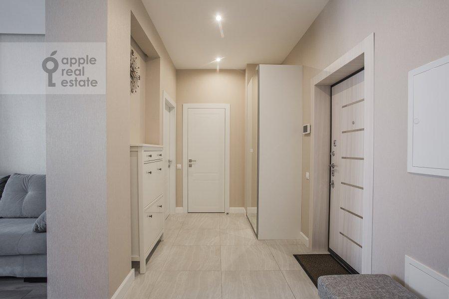 Коридор в 3-комнатной квартире по адресу Мосфильмовская ул. 88к2с4