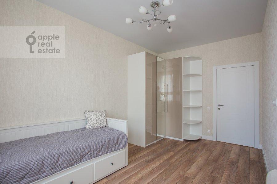Детская комната / Кабинет в 3-комнатной квартире по адресу Мосфильмовская ул. 88к2с4