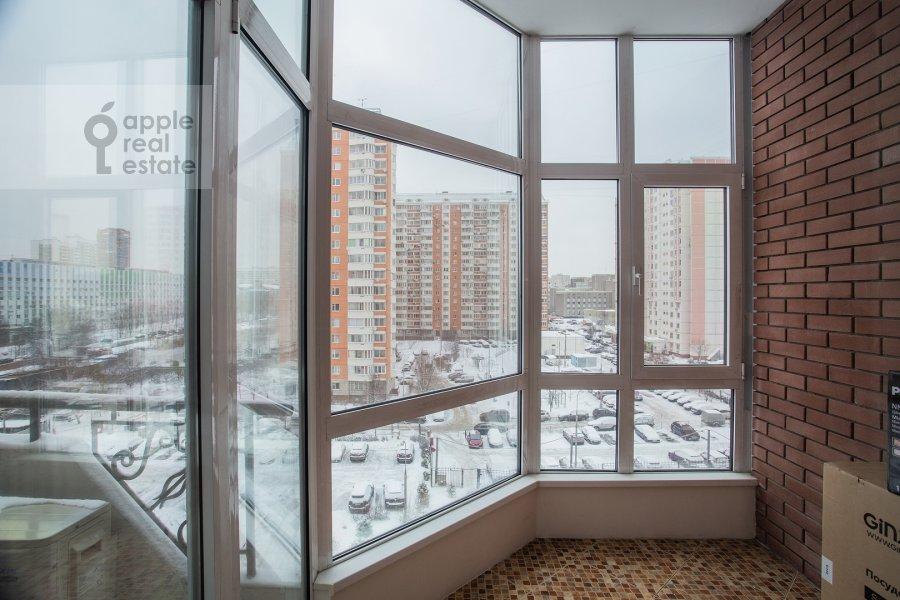 Balcony / Terrace / Loggia of the 4-room apartment at Ostrovityanova ul. 11K1