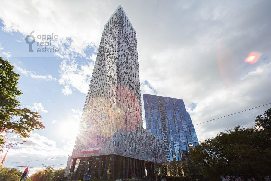 Поэтажный план 3-комнатной квартиры по адресу Мосфильмовская ул. 8к3