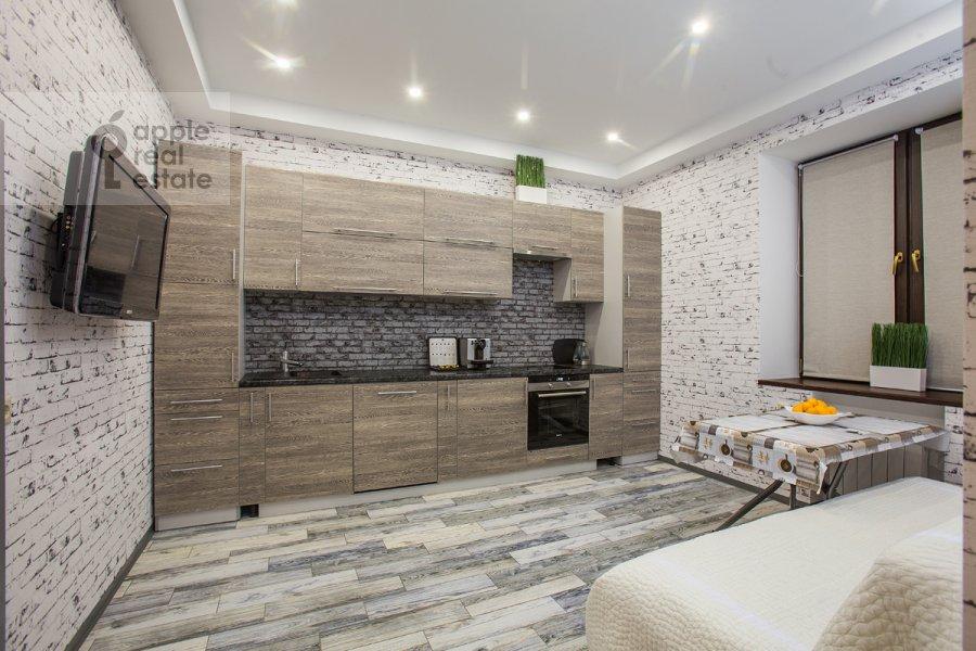 Kitchen of the 3-room apartment at Nezhinskaya ul. 8k4