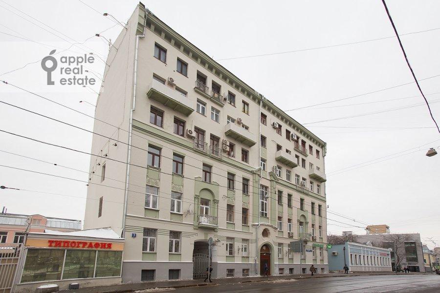 Photo of the house of the 3-room apartment at Novokuznetskaya ul. 3