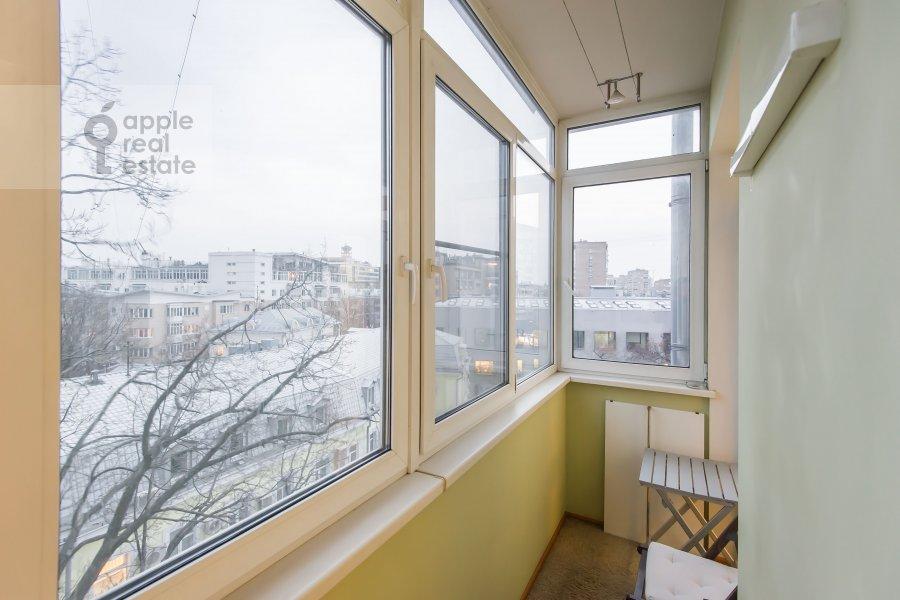 Balcony / Terrace / Loggia of the 3-room apartment at Novokuznetskaya ul. 3