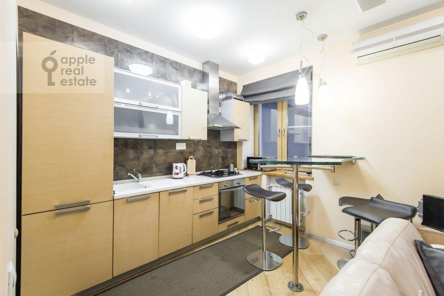Kitchen of the 3-room apartment at Novokuznetskaya ul. 3