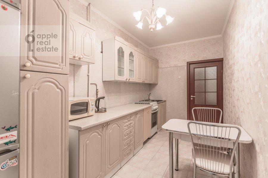 Кухня в 1-комнатной квартире по адресу Большой Тишинский переулок 24