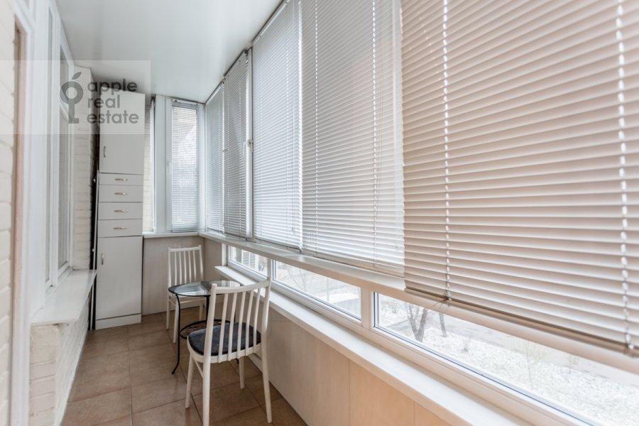 Балкон / Терраса / Лоджия в 1-комнатной квартире по адресу Большой Тишинский переулок 24