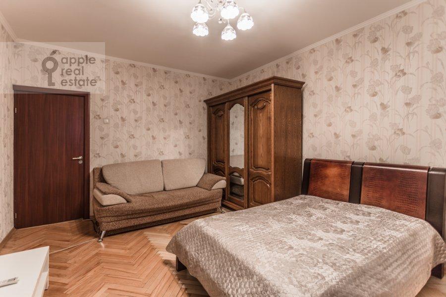 Спальня в 1-комнатной квартире по адресу Большой Тишинский переулок 24