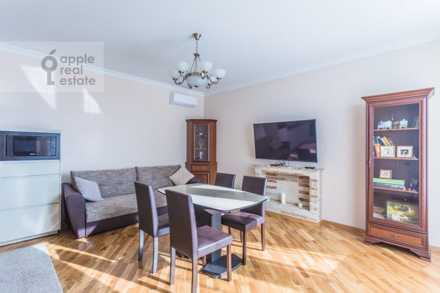 Гостиная в 2-комнатной квартире по адресу Докучаев пер. 2с3