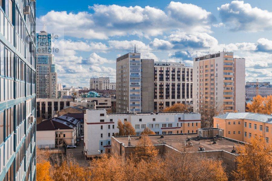 Вид из окна в 2-комнатной квартире по адресу Докучаев пер. 2с3